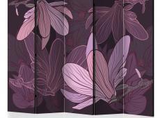 Paraván - Dreamy flowers II [Room Dividers]